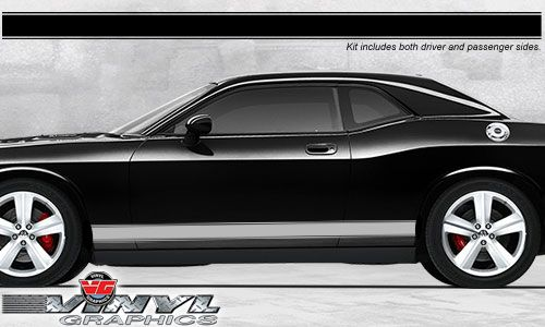 Vehicle Graphics 2008 2010 Challenger Dodge Challenger