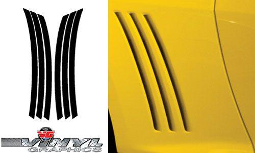 Vehicle Graphics 2010 2015 Camaro 2010 Camaro Rear