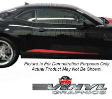 2010 Camaro Lower Body Accent Stripes
