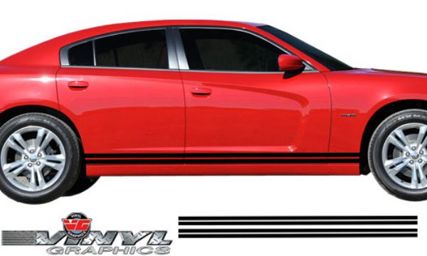 Vehicle Graphics 2011 2014 Charger Dodge Charger Lower