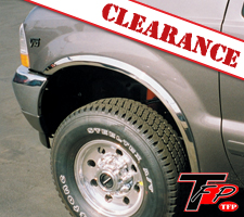 TFP 1999-2007 Ford F250/F350 Super Duty Stainless Steel Fender Trim