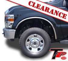 TFP 2008-2010 Ford F250/F350 Stainless Steel Fender Trim