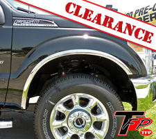 TFP 2011-2016 Ford F250/F350 Stainless Steel Fender Trim