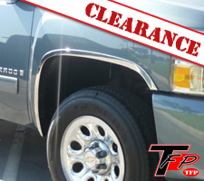 TFP 2007-2013 Chevrolet Silverado Stainless Steel Fender Trim