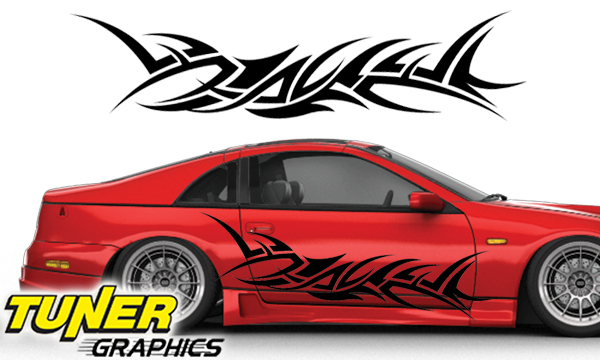 Vehicle Graphics Tuner Graphics Custom Car Graphics By