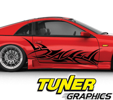 Tune-72 Custom Car Graphics by Tuner Graphics