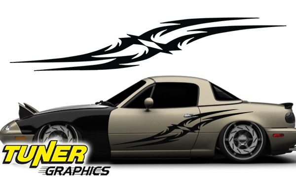 Tune 75 custom car graphics by tuner graphics