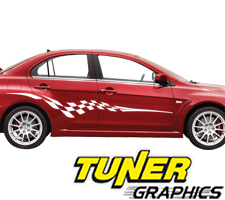 Tune-76 Custom Car Graphics by Tuner Graphics