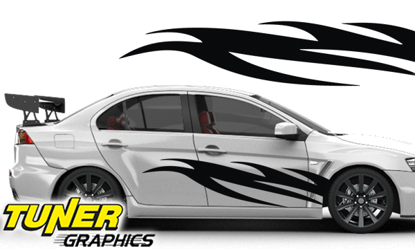 Vehicle Graphics Tuner Graphics Custom Car Graphics By Tuner - Custom vinyl graphics for cars