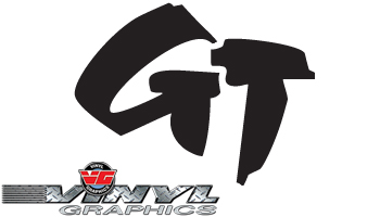 Vehicle Graphics Vg473 Custom Vinyl Brush Style Gt Decals