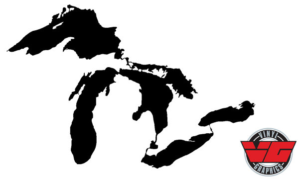 Vehicle Graphics Novelty Decals Great Lakes Decal