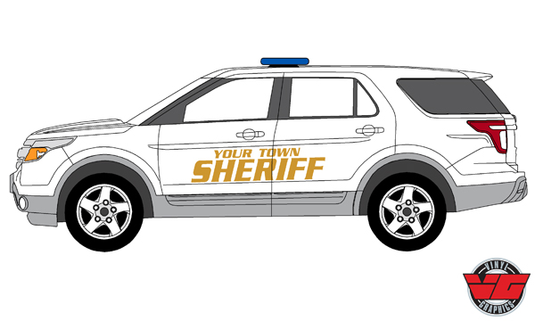 Vehicle Graphics Police Graphics Customizable Police