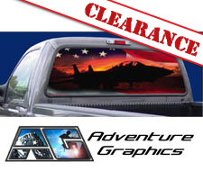 Victory Flight Custom Truck or SUV Rear Window Graphic by Adventure Graphics