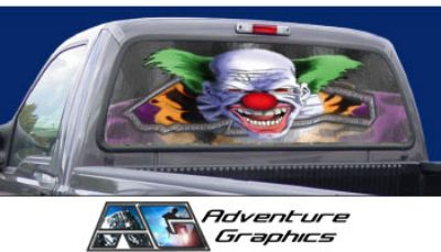 Vehicle Graphics Rear Window Graphics Chuckles The