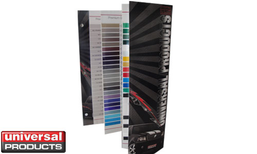 Vehicle Graphics Pinstripes Universal Products Color Chart