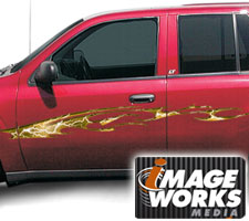Cosmic Storm Vehicle Graphics (Large)