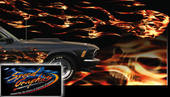Vehicle Graphics Graphics By Style Flame Fire Car
