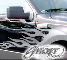 Vehicle Graphics Ghost Flames And Graphics