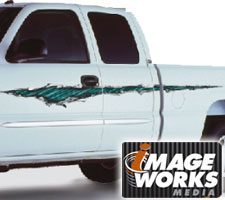 Shredded Vehicle Graphics (Small) by Image Works