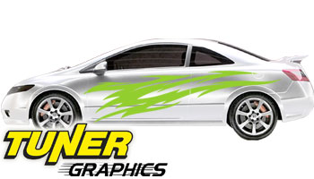 Vehicle Graphics Tuner Graphics Custom Car Graphics By Tuner - Custom car graphics