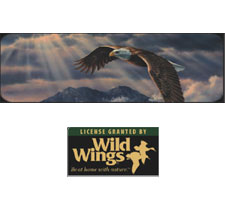 Wild Wings Collection - Above the Clouds Truck or SUV Rear Window Graphic by Vantage Point Concepts