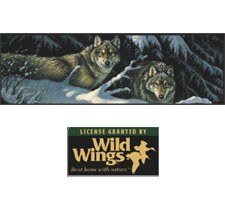 Wild Wings Collection - Black Timber Truck or SUV Rear Window Graphic by Vantage Point Concepts