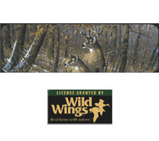 Wild Wings Collection - Fall - Whitetail Deer Truck or SUV Rear Window Graphic by Vantage Point Concepts
