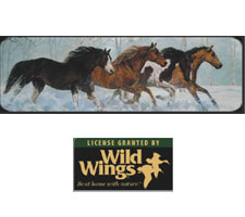 Wild Wings Collection - Powder Truck or SUV Rear Window Graphic by Vantage Point Concepts