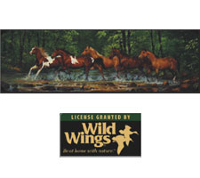 Wild Wings Collection - Spring Creek Run Truck or SUV Rear Window Graphic by Vantage Point Concepts