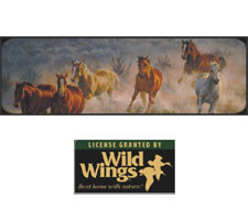 Wild Wings Collection - Stone Canyon Run Truck or SUV Rear Window Graphic by Vantage Point Concepts