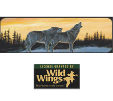 Wild Wings Collection - Sunrise Song Truck or SUV Rear Window Graphic by Vantage Point Concepts