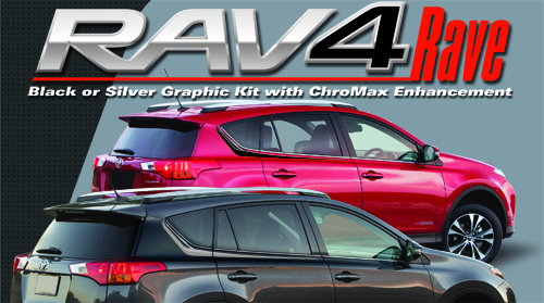 Vehicle Graphics Universal Products Rav4 Rave Kit