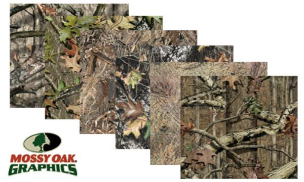 Vehicle Graphics Camouflage Graphics Mossy Oak 48 Inch Wide Camo Sheet