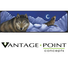 Original Series - The Wolves Truck or SUV Rear Window Graphic by Vantage Point Concepts