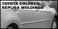 Toyota Colored Replica Moldings