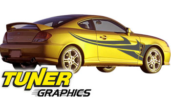 Vehicle Graphics Tuner Graphics Custom Car Graphics By Tuner - Auto graphics for carillusionsgfx custom automotive graphics