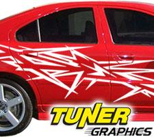 Vehicle Graphics Tuner Graphics - Custom car graphics