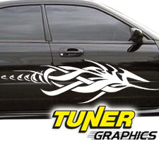 Tune-66 Custom Tribal Car Graphics