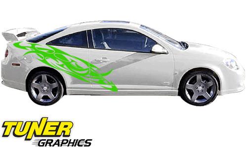 Vehicle Graphics Tuner Graphics Tune Custom Tribal Car Graphics - Auto graphics for carillusionsgfx custom automotive graphics