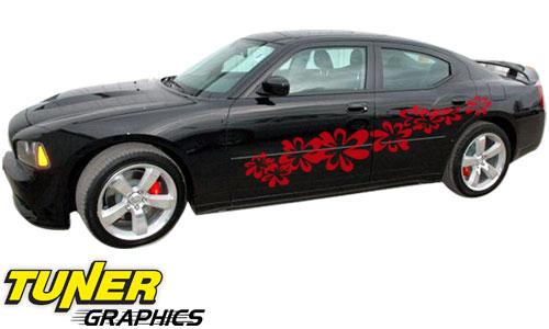 Vehicle Graphics Tuner Graphics Flower Power Vehicle Car Graphics - Auto graphics for carillusionsgfx custom automotive graphics
