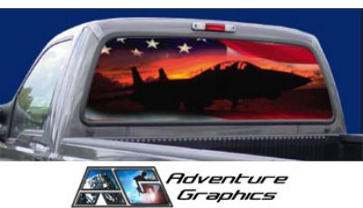 Vehicle Graphics Rear Window Graphics American Pride